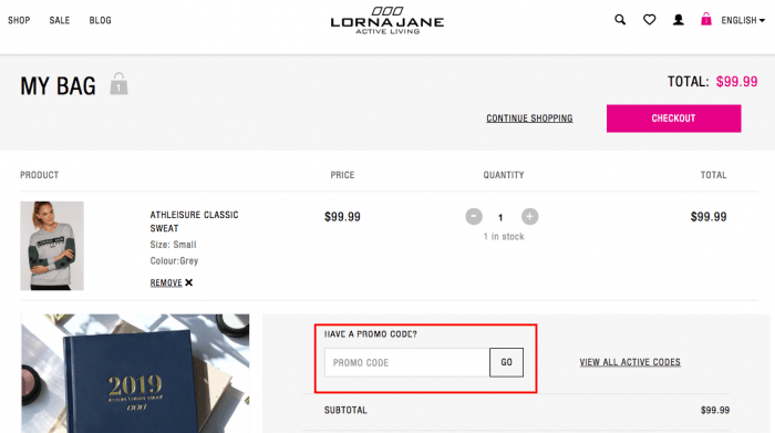Lorna Jane Canada Online Shopping Benefits